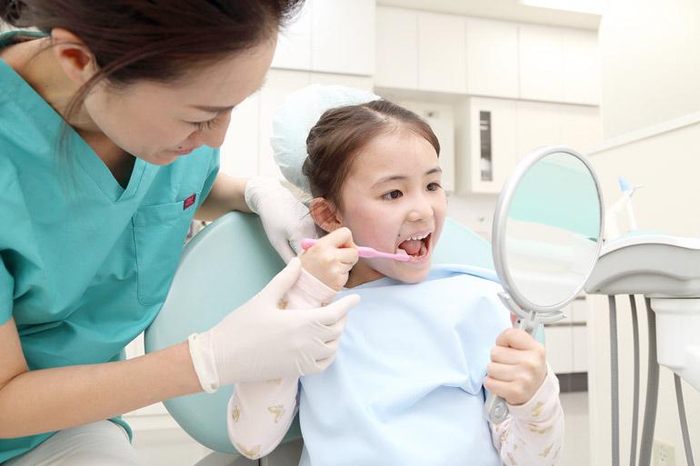 お子さんのトラウマを作らない治療(御徒町新御徒町上野歯医者歯科松原歯科クリニック)