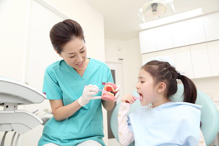 歯磨きが第一(御徒町新御徒町上野歯医者歯科)